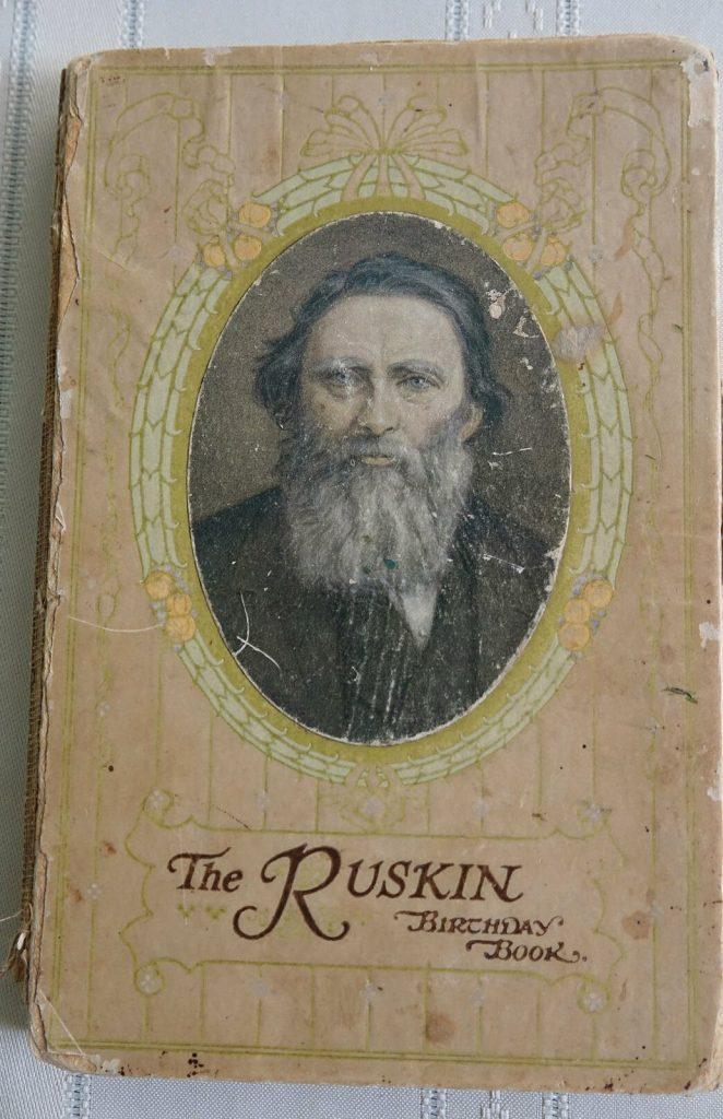 John Ruskin Birthday Book