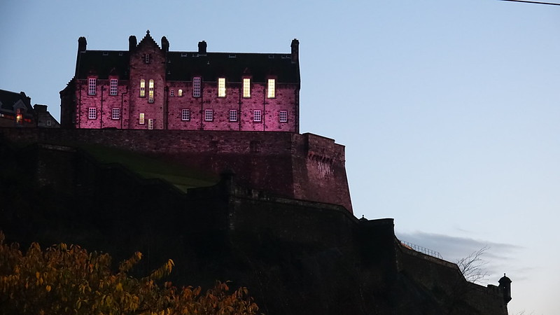 5* Hotels Scotland, view at dusk Barony House 5 Star Guest House