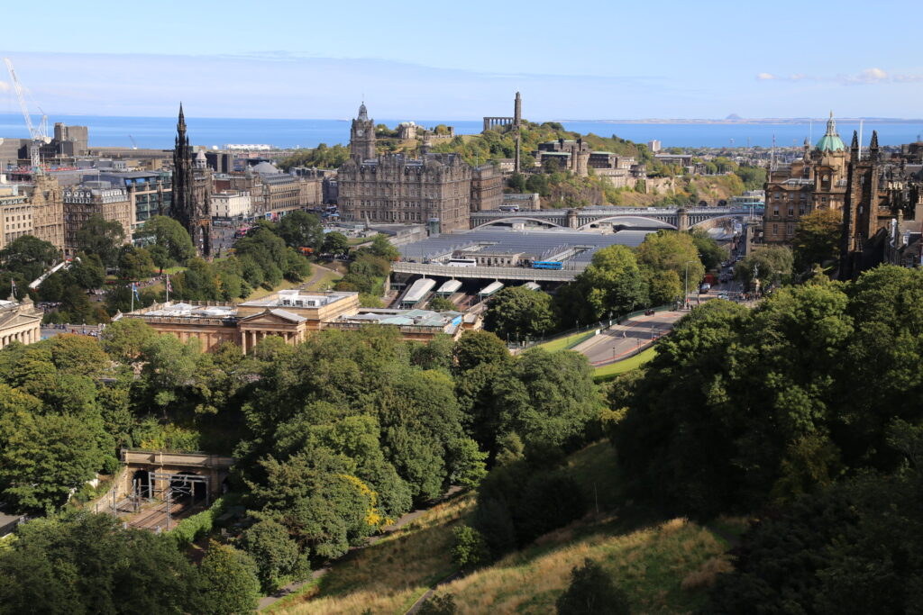 5* Hotels Scotland, view from the top Barony House 5 Star Guest House